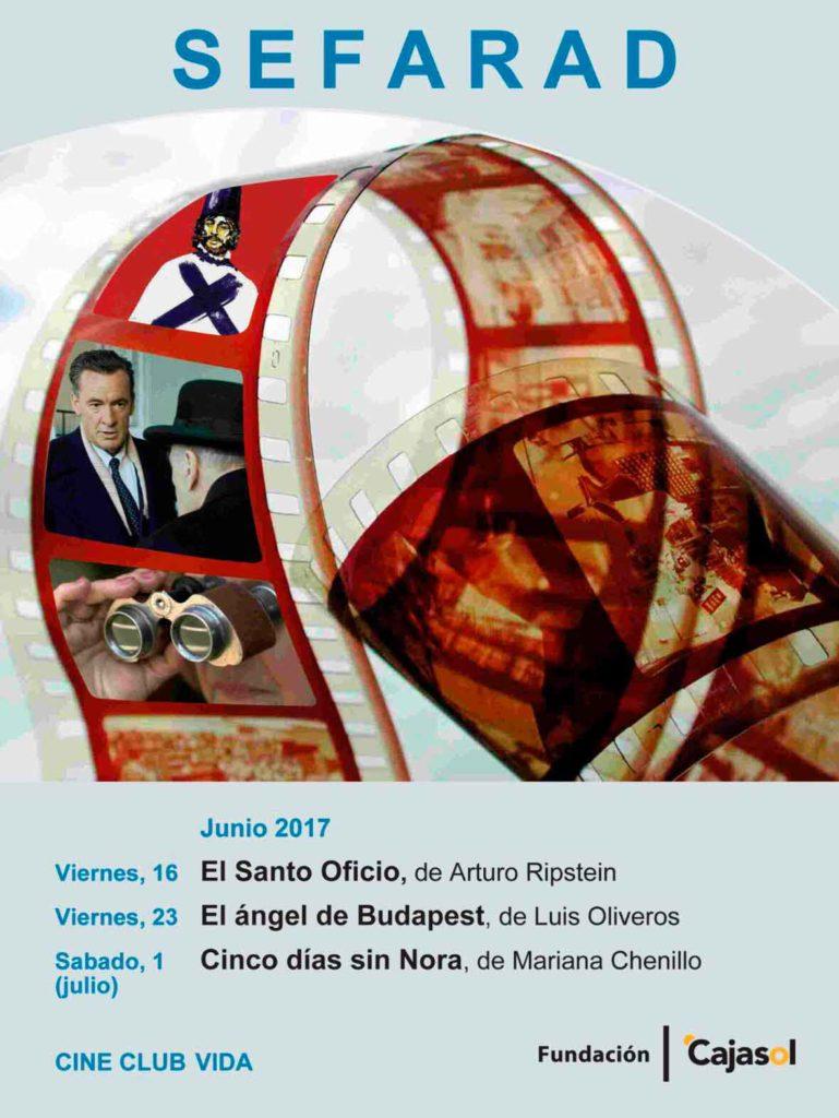 Cartel del ciclo de cine de la Fundación Cajasol dedicado a Sefarad