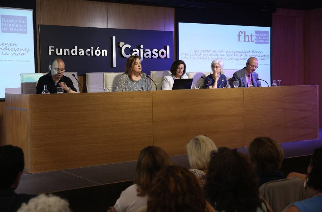 Presentación oficial de la Fundación Hispalense de Tutelas en la Fundación Cajasol