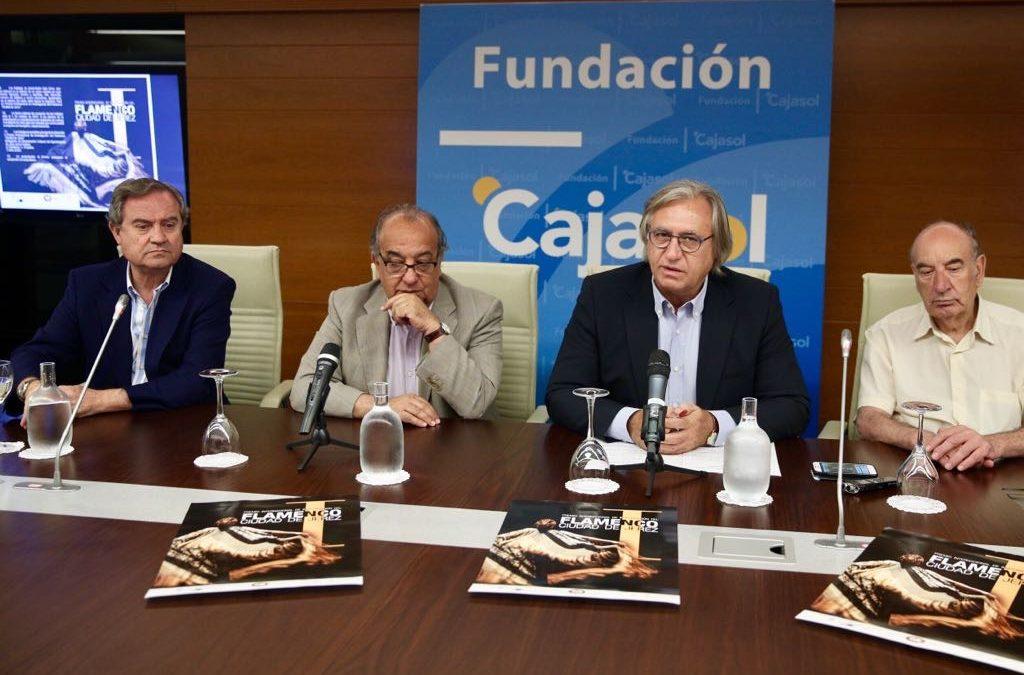 Presentación del Premio Internacional de Investigación del Flamenco 'Ciudad de Jerez' en la Fundación Cajasol