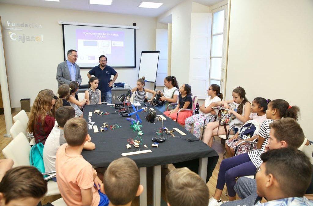 Lab Ciencia y Tecnología en la Fundación Cajasol
