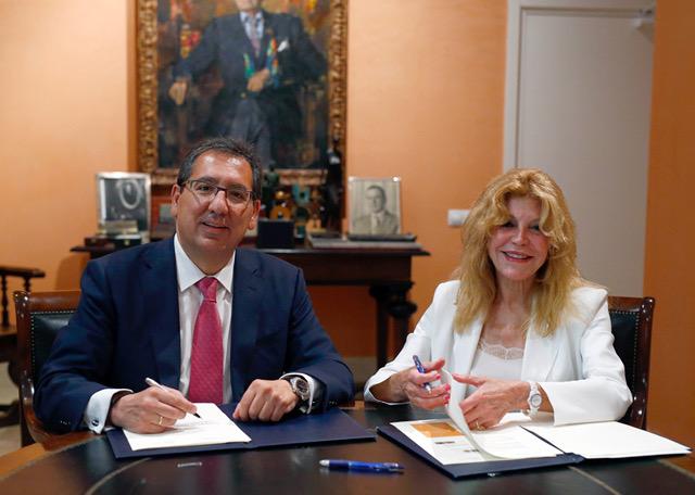 La Fundación Cajasol se incorpora como nuevo colaborador del Museo Carmen Thyssen Málaga