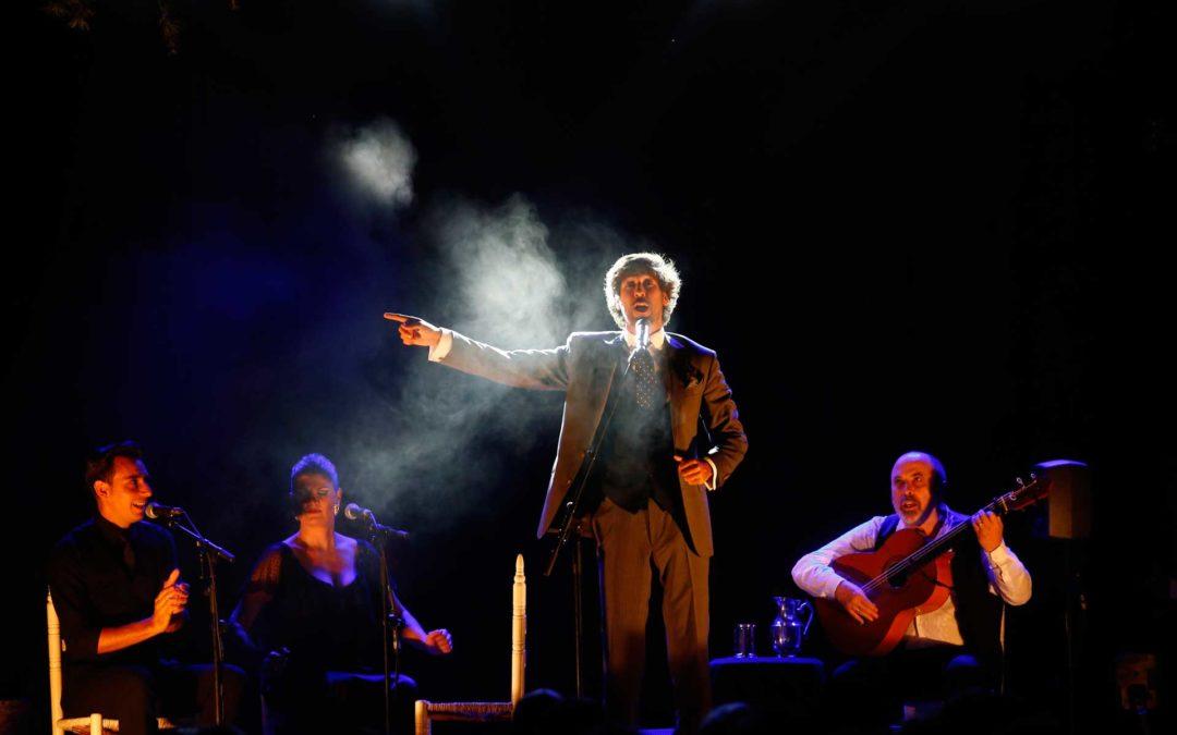 Manuel Lombo presentó su espectáculo 'Origen' en la Residencia de Estudiantes de Madrid