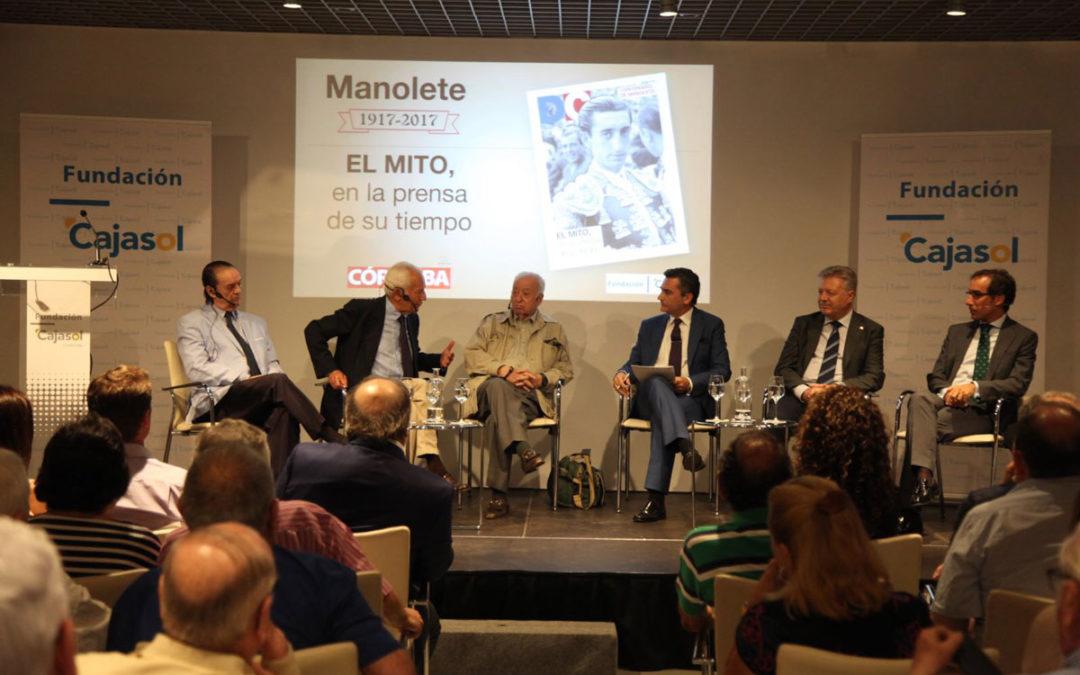 Homenaje a Manolete por el centenario de su nacimiento desde la Fundación Cajasol en Córdoba