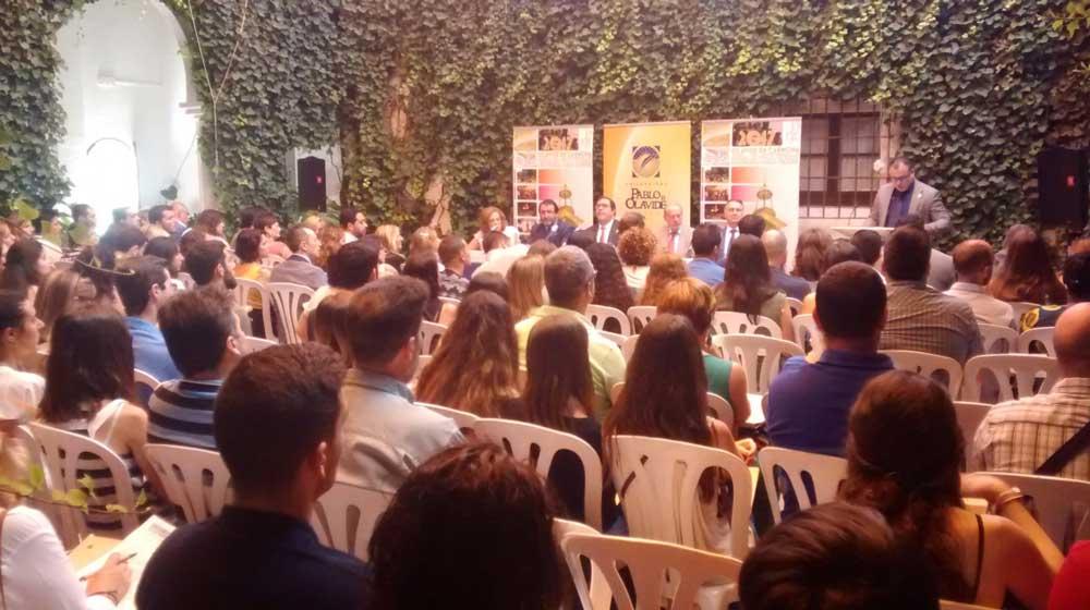 Unos 800 estudiantes participan en la XV edición de los Cursos de Verano de la Universidad Pablo de Olavide en Carmona
