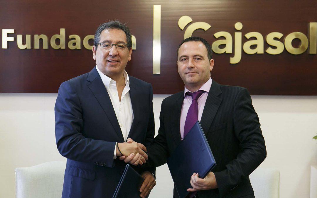 La Fundación Cajasol mantiene su respaldo al Mairena Voley Club