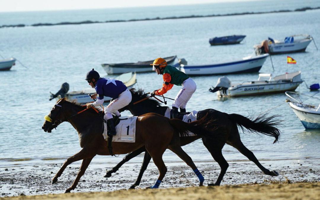 Más de 80 caballos en la 174º edición de las Carreras de Caballos de Sanlúcar