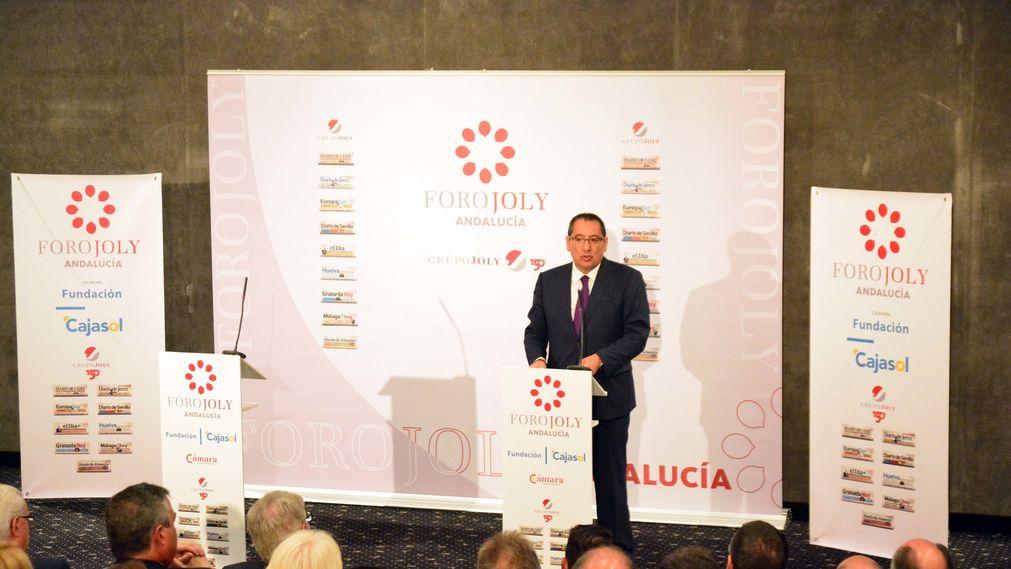Antonio Pulido, en el Foro Joly con Alfonso Dastis, Ministro de Asuntos Exteriores