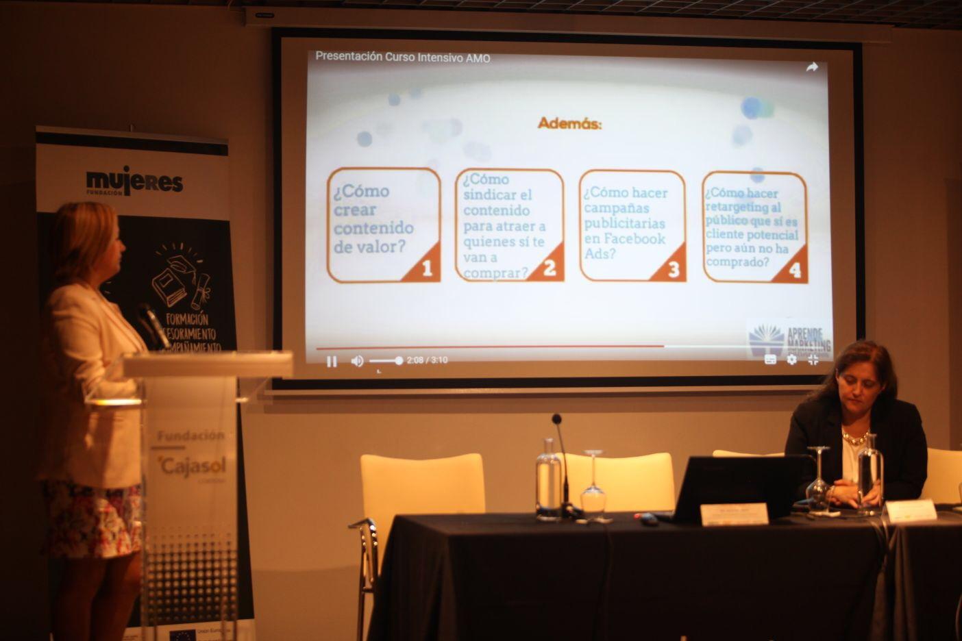 Intervención en el XV Encuentro de Emprendedoras y Empresarias 'Comunica, comparte, haz networking... sé una empresaria de éxito'