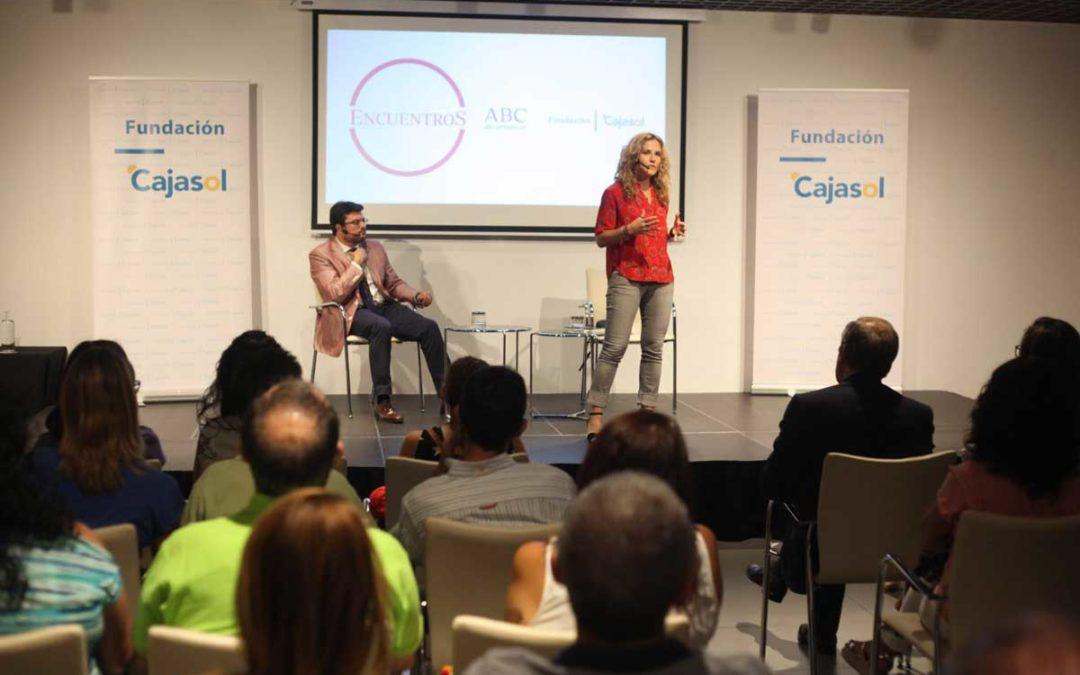 Silvia Congost participa en los Encuentros de ABC Córdoba y la Fundación Cajasol