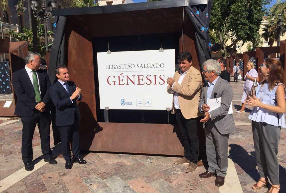 Arte en las calles de Huelva con la exposición 'Génesis', de Sebastiao Salgado, hasta el 23 de septiembre