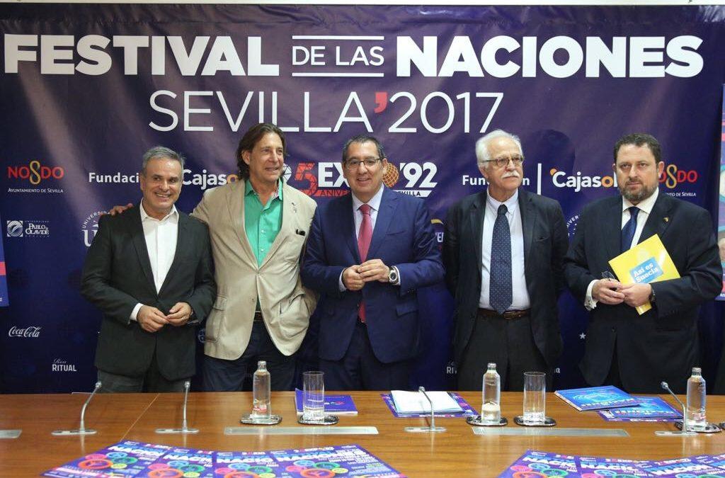 La Fundación Cajasol, colaboradora principal del XXIV Festival de las Naciones
