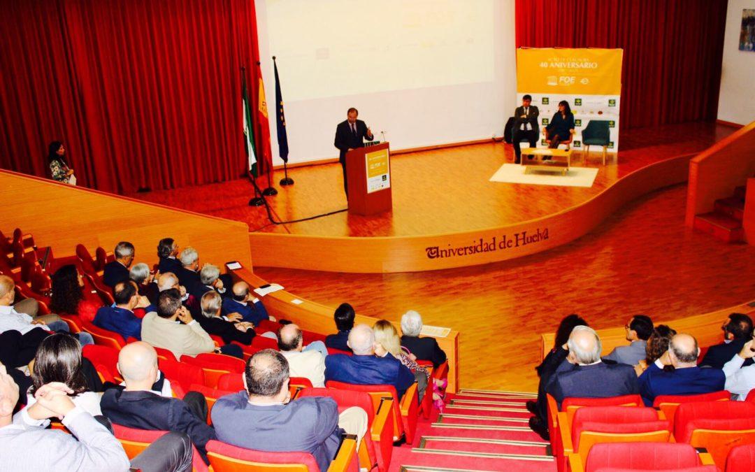 Clausura del 40º Aniversario de la FOE en Huelva