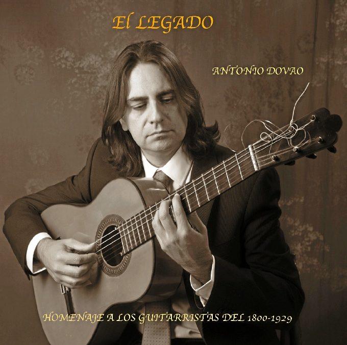 La guitarra de Antonio Dovao acerca el Festival Flamenco Ciudad de Huelva al escenario de la Fundación Cajasol