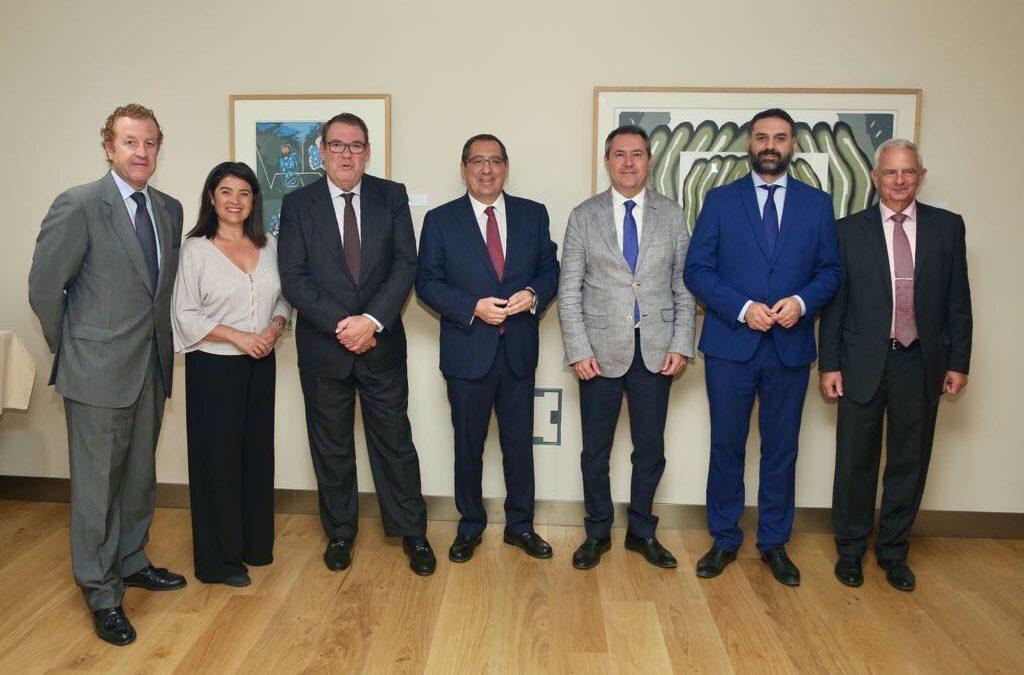 40 aniversario de la Asociación de Hoteles de Sevilla y Provincia en la Fundación Cajasol