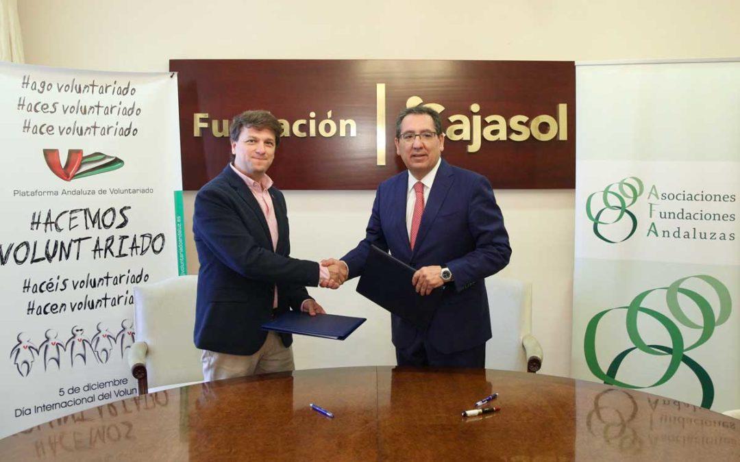 """Antonio Pulido: """"Trabajamos para todos los usuarios de las fundaciones y asociaciones que hay en Andalucía"""""""
