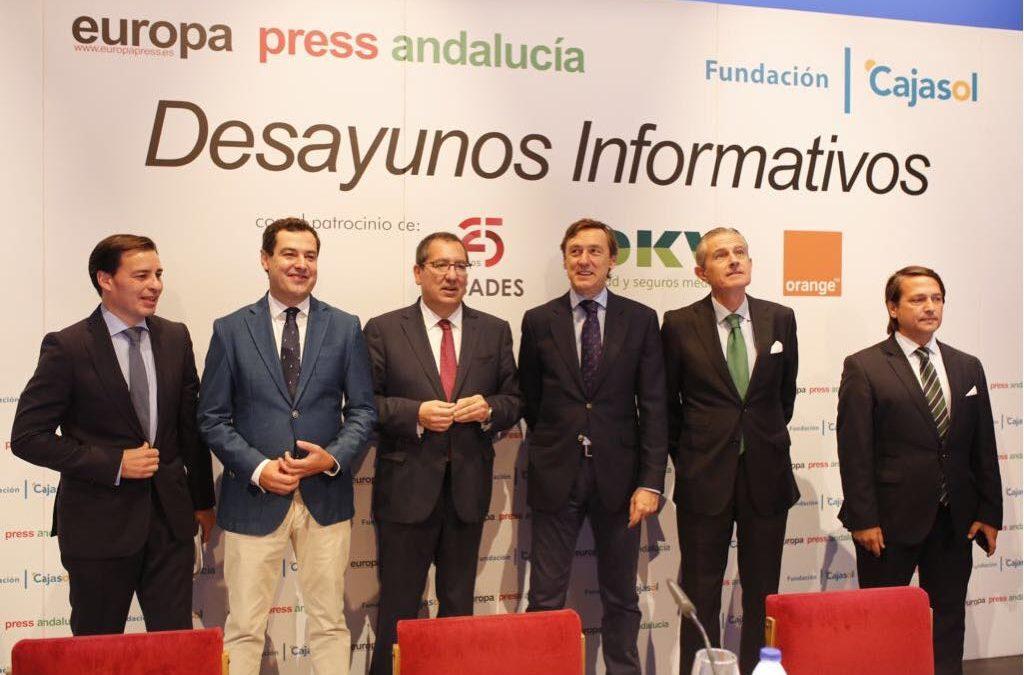 Desayuno Informativo de Europa Press con Rafael Hernando en Almería