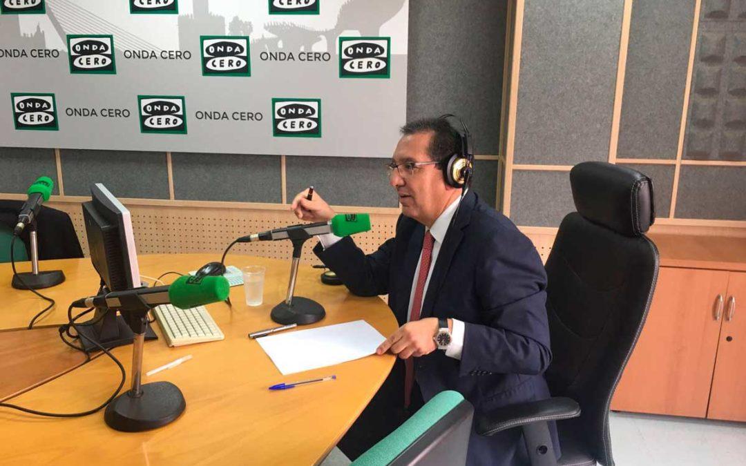 Entrevista a Antonio Pulido en Onda Cero con Julia Otero