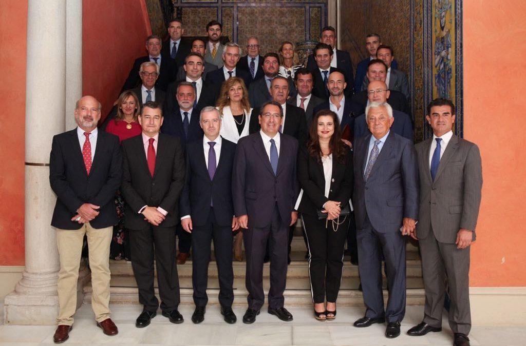 Visita del Embajador de Bulgaria en España a la Fundación Cajasol