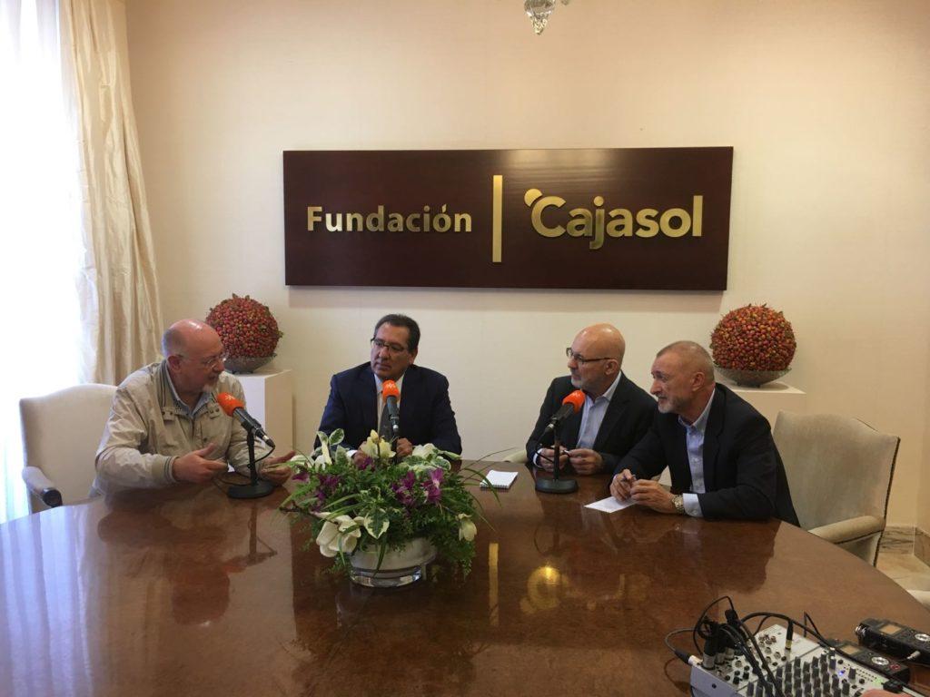 Programa de radio especial de Canal Sur Radio con motivo de Letras en Sevilla: Chaves Nogales