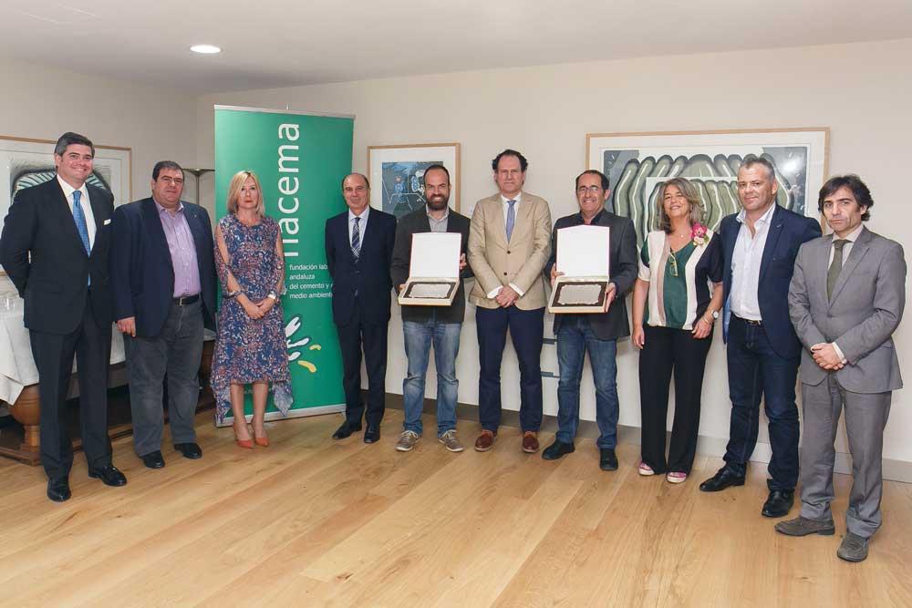 Entrega de los XII Premios Flacema en la Fundación Cajasol