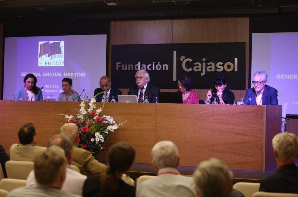 Eurhodip 2017 desde la Fundación Cajasol: Hablando sobre nuevos modelos de negocios para el siglo XX en Turismo y Patrimonio Histórico