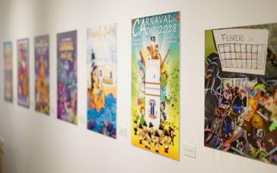 Exposición con carteles del Carnaval Cádiz 2018, hasta el 17 de noviembre en la Fundación Cajasol