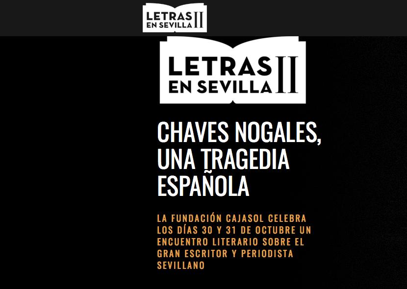 La Fundación Cajasol presenta la II Edición del Ciclo de Conferencias 'Letras en Sevilla'