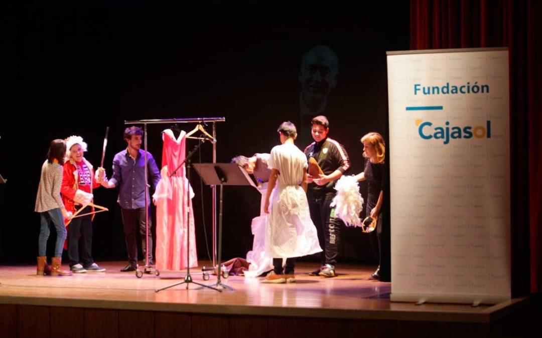 La compañía de teatro de Blanca Marsillach acerca la poesía del Siglo de Oro a los jóvenes cordobeses