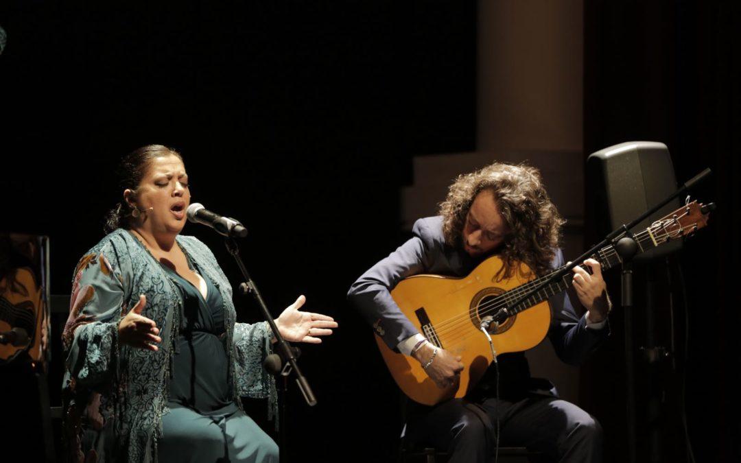 Angelita Montoya presenta 'Versos olvidados' en los Jueves Flamencos de la Fundación Cajasol
