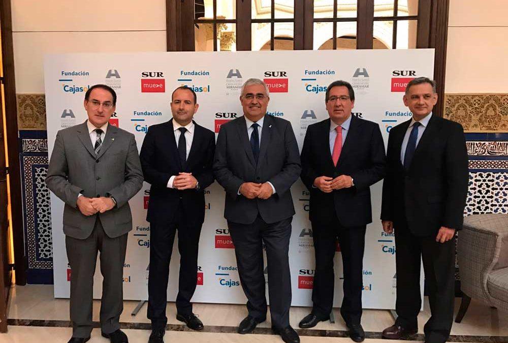 """Antonio Pulido: """"Estamos convencidos de que el futuro de Andalucía está en la formación de excelencia y el fomento del emprendimiento"""""""