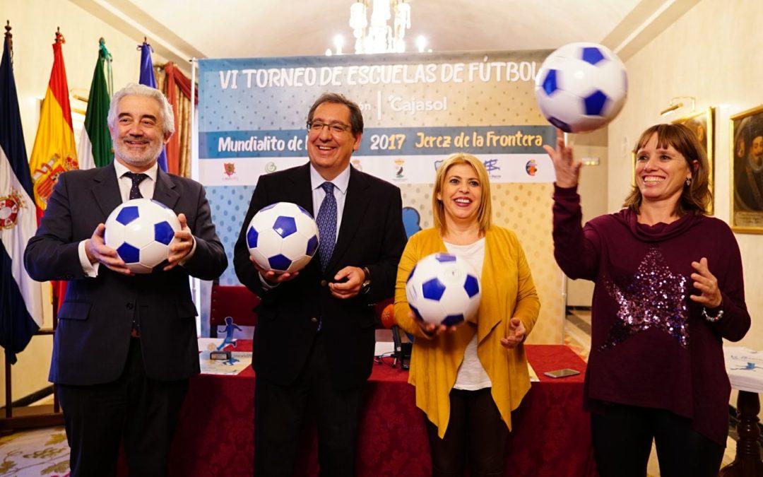 El VI Mundialito de Navidad de la Fundación Cajasol se celebrará en Chapín el 16 de diciembre