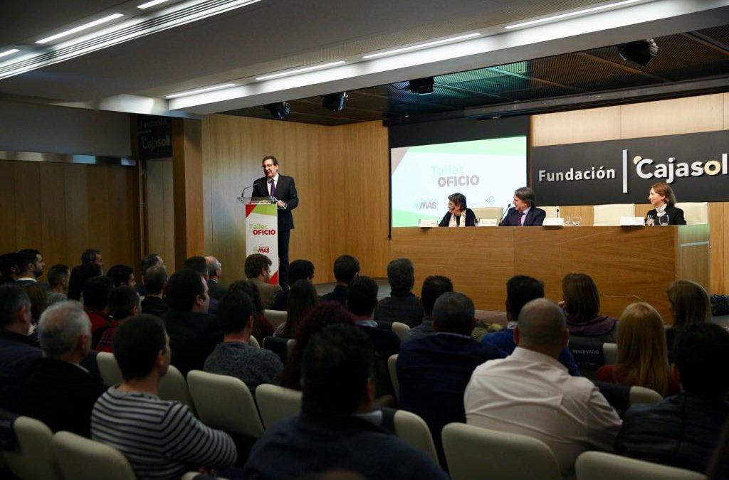 Clausura del 5ª Programa Taller de Oficio de la Fundación MAS en la Fundación Cajasol