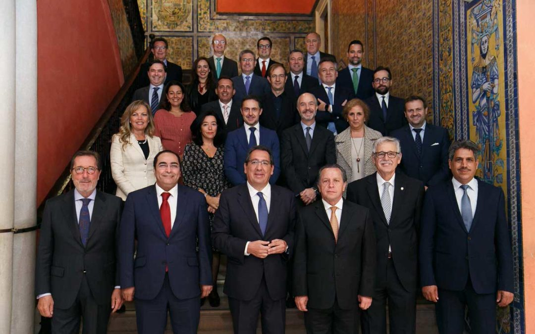 La Fundación Cajasol celebra la Asamblea General con motivo del 60 aniversario de la Asociación Internacional de Entidades de Crédito Prendario y Social