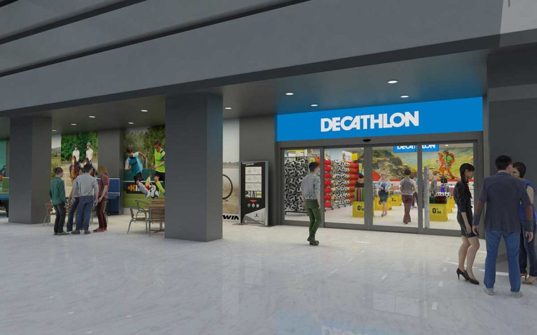 El Edificio Villasís de la Fundación Cajasol tendrá a Decathlon como principal firma comercial