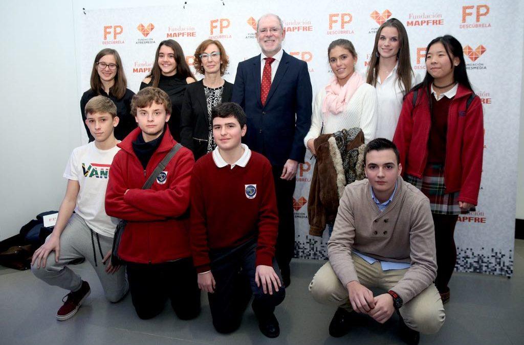 Más de 200 alumnos dan su opinión sobre la FP en un encuentro organizado por Fundación Atresmedia y Mapfre