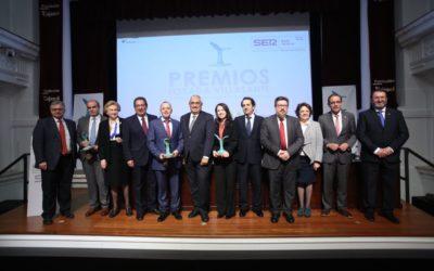 Entrega de los V Premios 'Losada Villasante' a la Investigación en la Fundación Cajasol