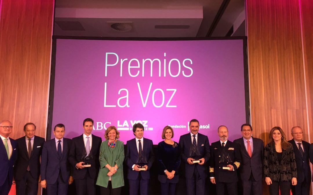 La Fundación Cajasol impulsa los Premios LA VOZ, que alcanzan su duodécima edición