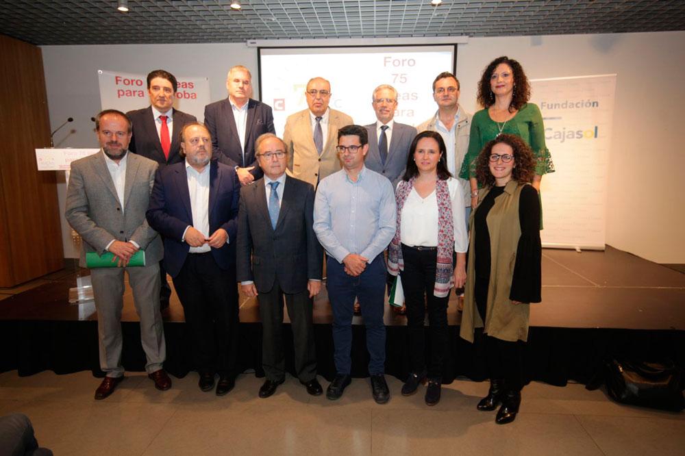 Nueva sesión del Foro 75 Ideas para Córdoba desde la Fundación Cajasol