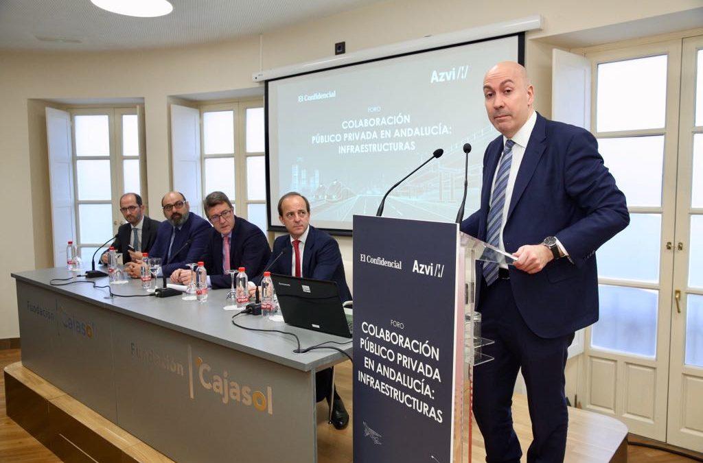 Elfuturo de la Colaboración Público Privada en Andalucía, a debate en la Fundación Cajasol