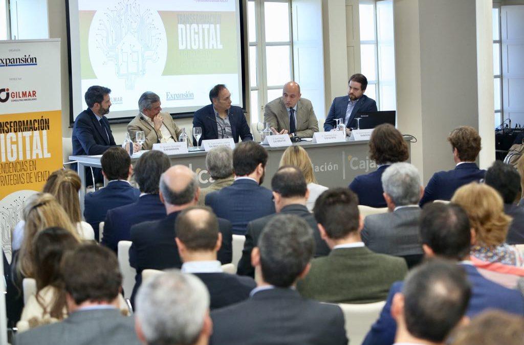 Expertos debaten sobre la transformación digital y tendencias en estrategias de venta en el sector inmobiliario desde la Fundación Cajasol