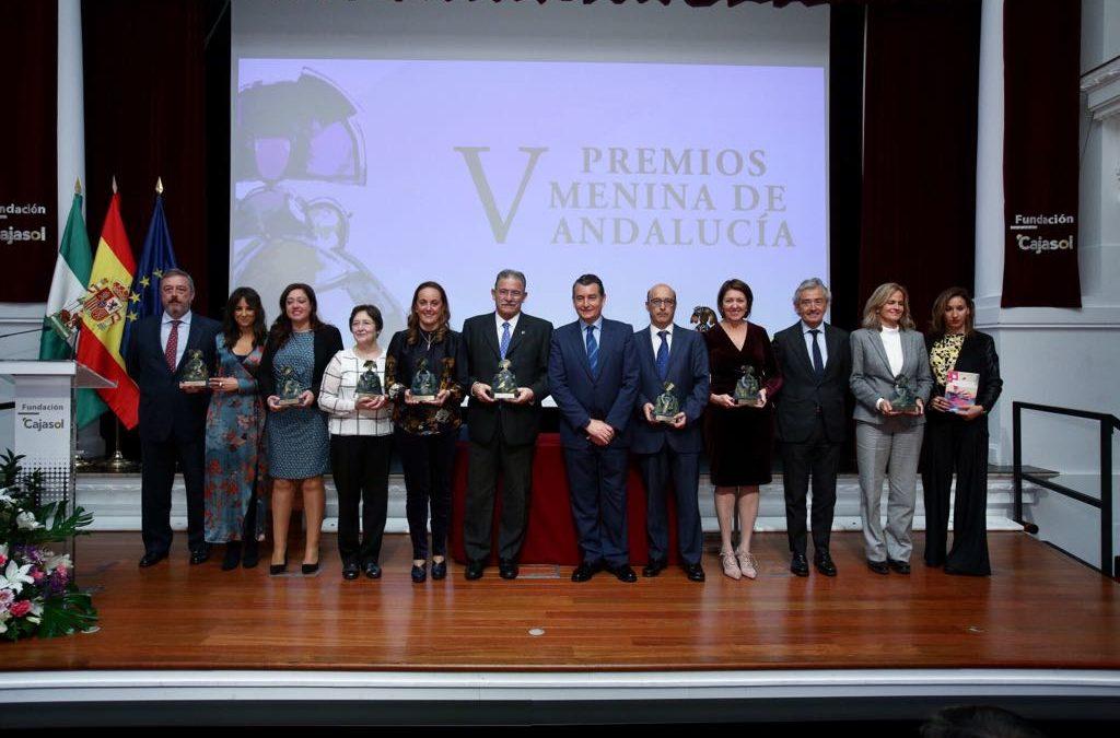 Entrega de los V Premios Menina en la Fundación Cajasol