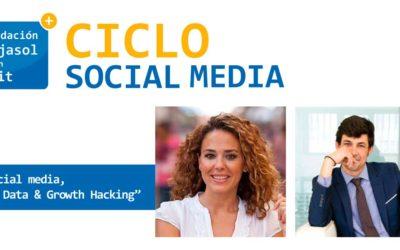 Fundación Cajasol en un tuit: 'Social Media, Big Data y Growth Hacking', este martes 21 de noviembre en Sevilla