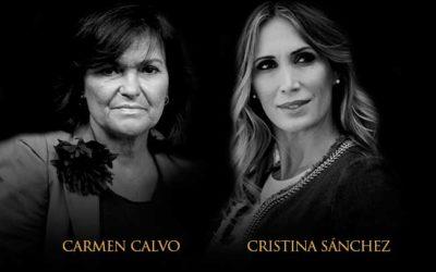 La Fundación Cajasol inaugura su nueva temporada de 'Mano a Mano' con Cristina Sánchez y Carmen Calvo