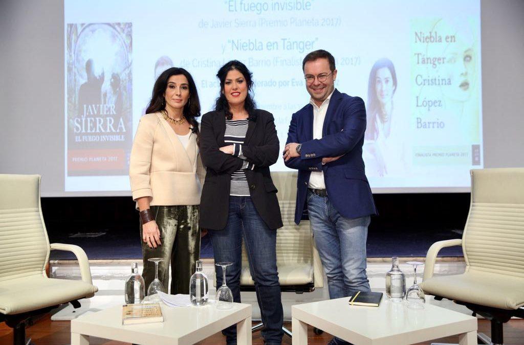 El Premio Planeta 2017 y la obra finalista en el certamen literario se presentan en la Fundación Cajasol
