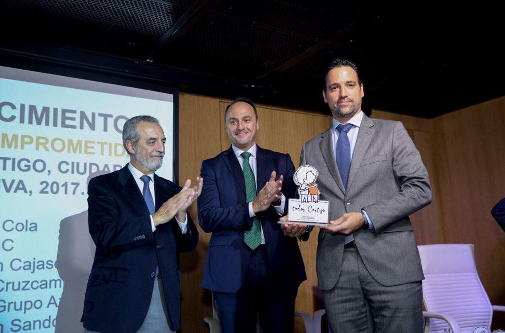 La Fundación Cajasol recibe el reconocimiento como 'entidad comprometida' por parte de New Health Foundation