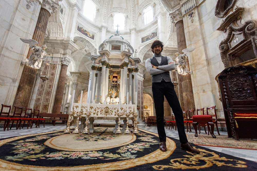 Manuel Lombo volverá a cantarle a la Navidad el 16 de diciembre en la Catedral de Cádiz
