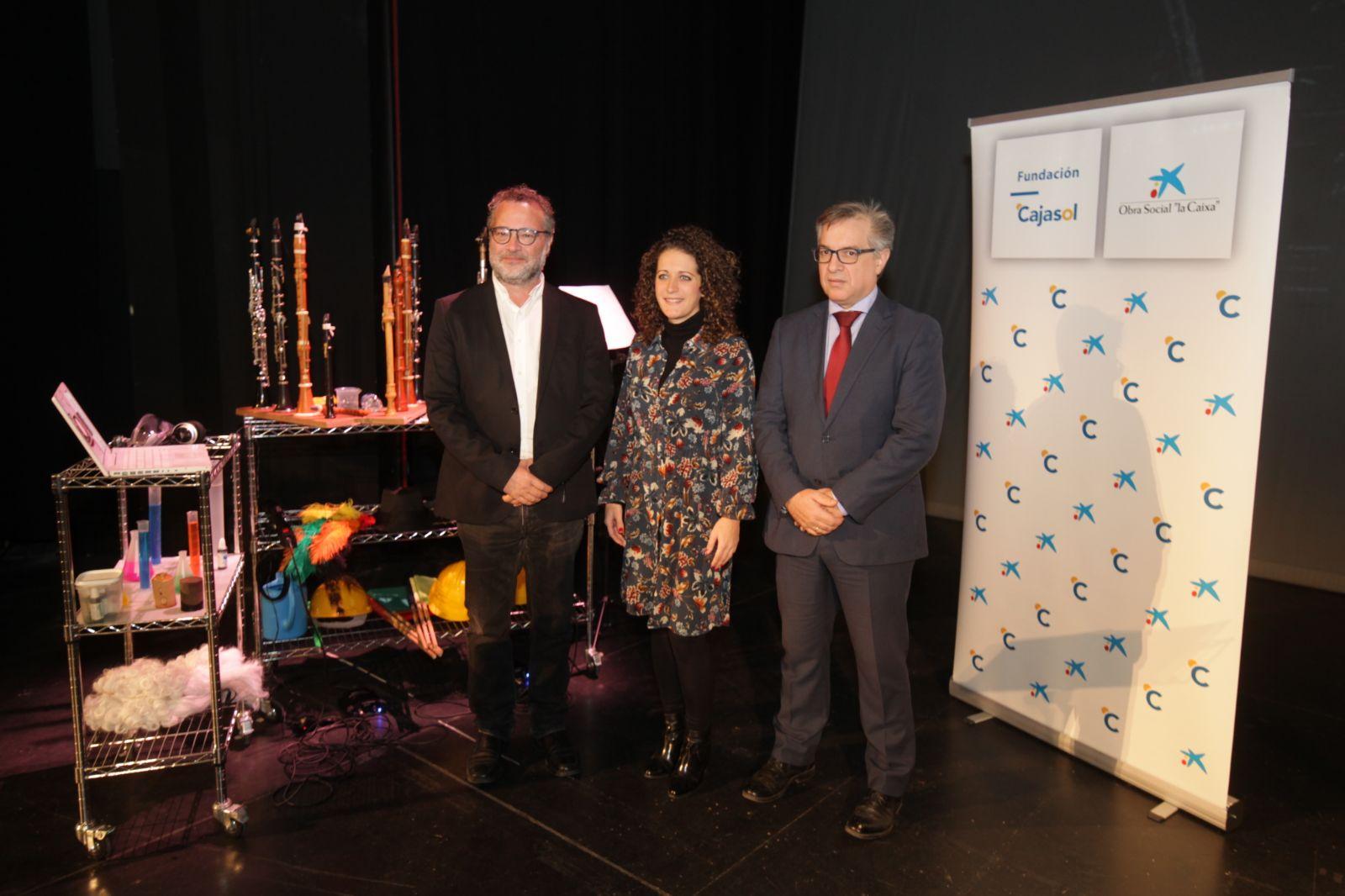 Presentación del espectáculo 'Clarinetarium' en el Teatro Góngora de Córdoba