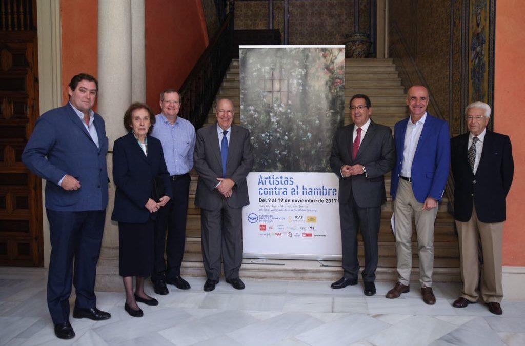 Exposición y subasta 'Artistas contra el hambre', del 9 al 19 de noviembre en la sala Atin Aya, a beneficio del Banco de Alimentos de Sevilla