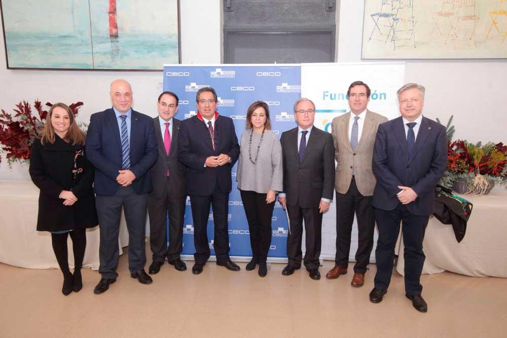 Broche de oro a la celebración del 40º aniversario de la Confederación de Empresarios de Córdoba