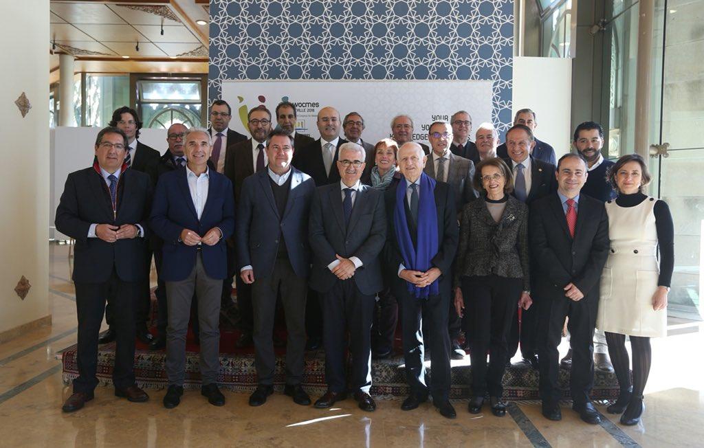 Reunión del Patronato de la Fundación Tres Culturas del Mediterráneo en Sevilla